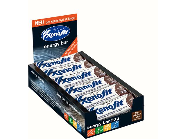 Xenofit Carbohydrate Bar Box 18x50g, Chocolate/Crunch